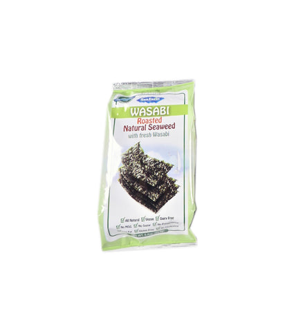 SEA FARM NATURAL SEAWEED WITH WASABI 12PACK 0.4OZ
