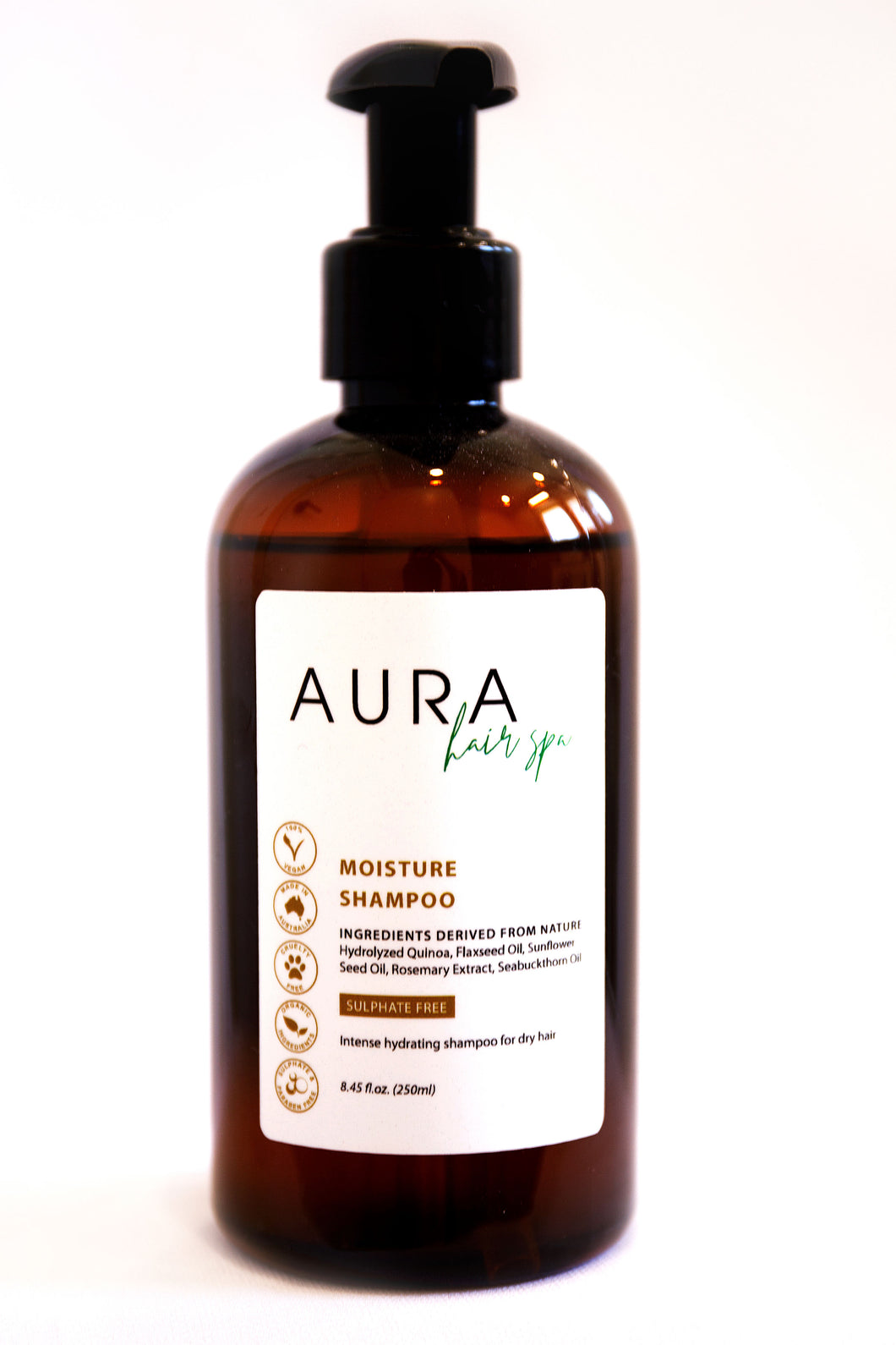 Aura Hair Spa Moisture Shampoo 250ml