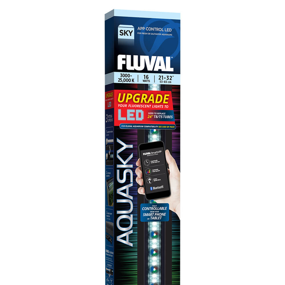 Fluval Aquarium Aquasky LED 12W, 16W, 21W, 25W, 27W, 30W, 33W