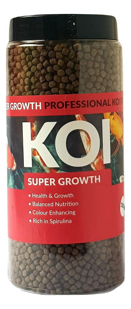 Koi Super Growth 6mm Koi Carp Fish Food 700g, 1000g, 2000g