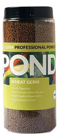 Pond Wheatgerm 3mm Koi & Pond Fish Food 1000g, 2000g