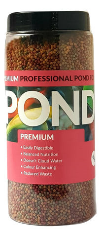 Pond Premium 3mm Pond Fish Food 650g, 850g, 1675g