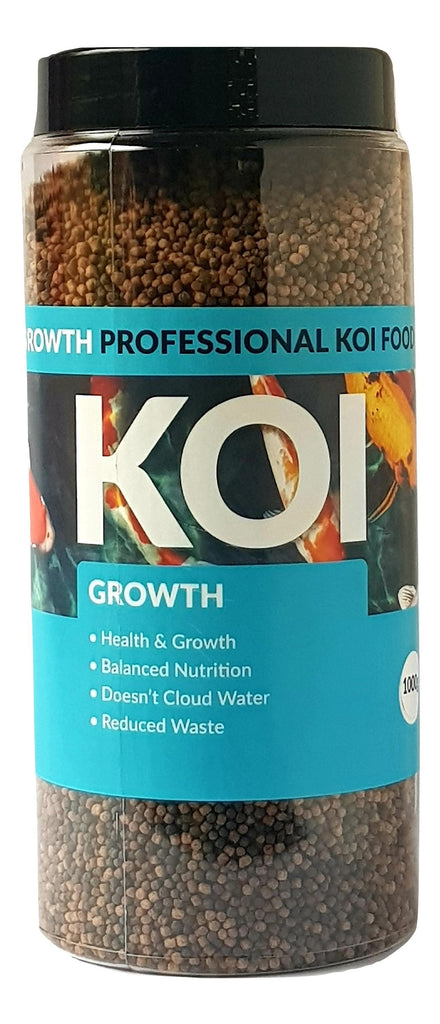 Koi Growth 3mm Koi Carp Fish Food 1000g, 2000g