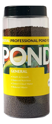 Pond General 3mm Pond Fish Food 1100g, 2200g