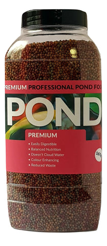 Pond Premium 3mm Pond Fish Food 850g, 1675g