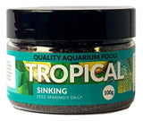Tropical Sinking Pellet Aquarium Fish Food 100g, 175g, 300g