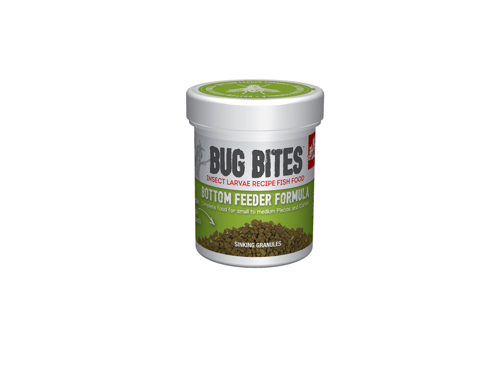 Fluval Aquarium Bug Bites Bottom Feeder Granules or Sticks 45g, 130g