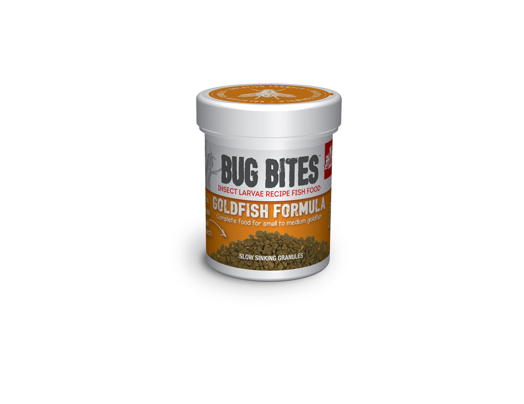 Fluval Aquarium Bug Bites Goldfish Granules or Pellets 45g,100g