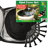 Kockney Koi Pond Cover Net 3m x 2m