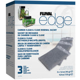 Fluval Edge Carbon Clean & Clear (3 x 45g)