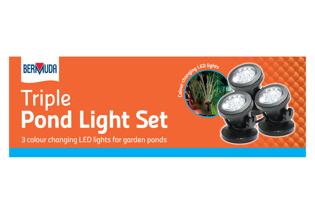 Bermuda Triple Pond LED Light Set
