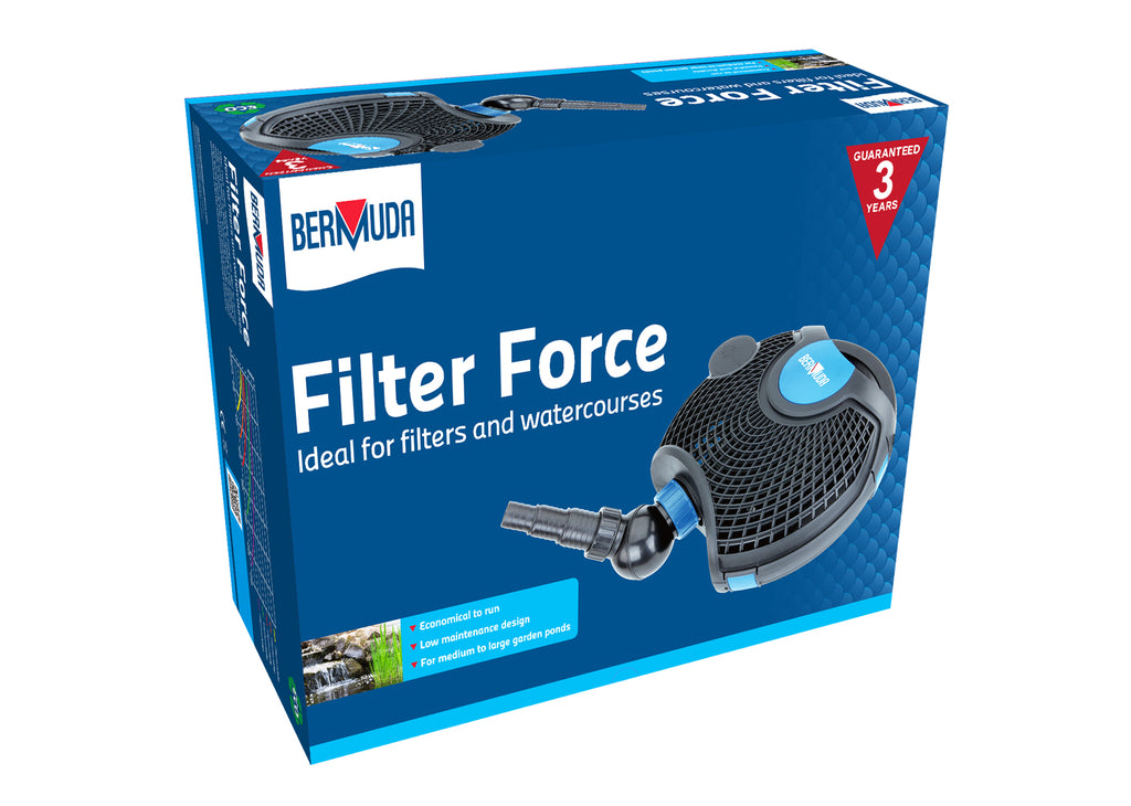 Bermuda Filter Force Pond Pumps 3500, 6500, 10000, 13000
