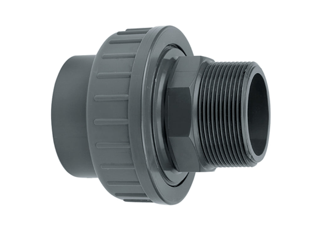 Evolution Aqua Adaptor Union Plain Female - Threaded Male - Pressure Pipe