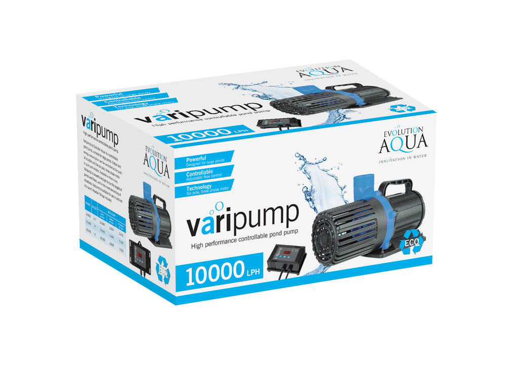 Evolution Aqua Varipump Pond Pump