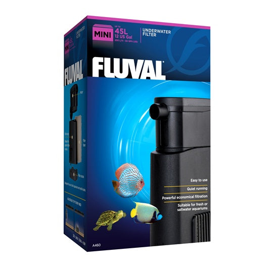 Fluval Aquarium Mini Underwater Filter 45L