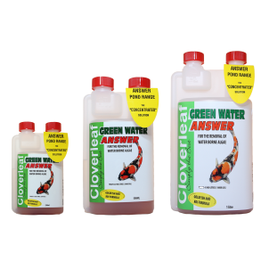 Cloverleaf Green Water Answer 250ml, 500ml, 1000ml Pond Additive