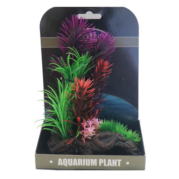 Betta Choice Aquarium Mini Air Gardens - Red & Purple