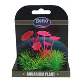 Betta Choice Aquarium Mini Plant Mat - Pink, Purple & Green