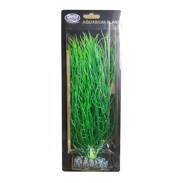 Betta Choice Aquarium Plastic 30cm Green Plant