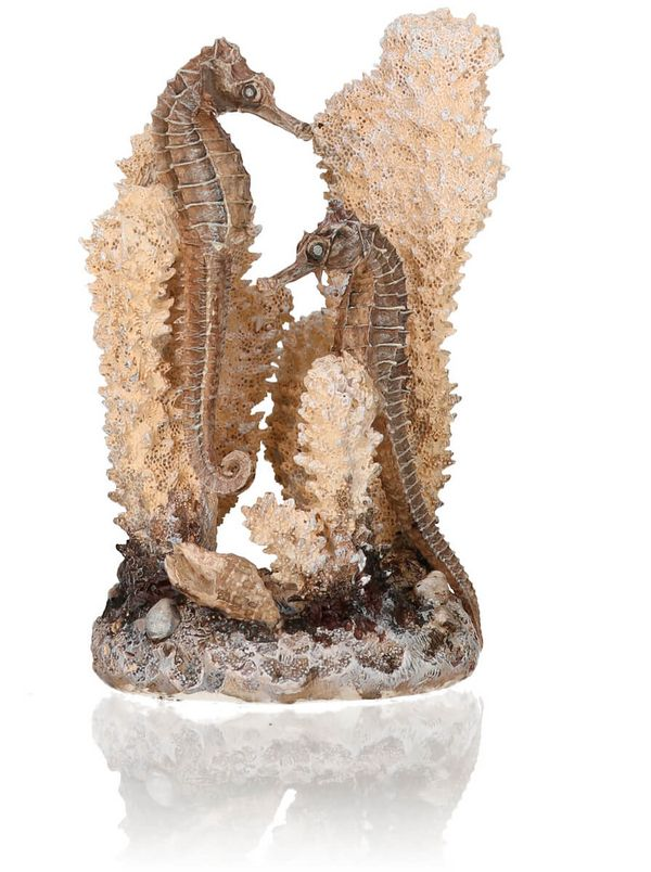biOrb Seahorse Coral Natural or Black Small Aquarium Sculpture