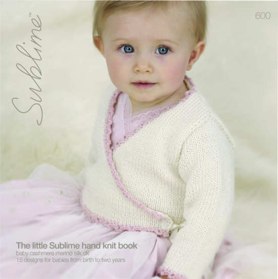 Baby Cashmere Merino Silk DK-600-Pattern Book - The Mulberry Tree at Milton
