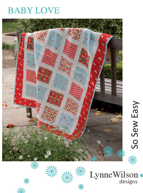 Lynne Wilson - Baby Love - Quilt Pattern - LWD14 - The Mulberry Tree at Milton