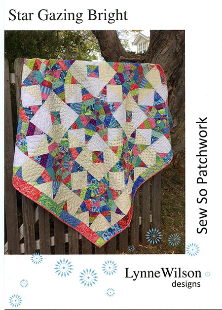 Lynne Wilson - Star gazing Bright - Quilt Pattern - LWD20 - The Mulberry Tree at Milton