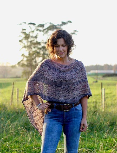 Skein Sisters Shawl Pattern - The Mulberry Tree at Milton
