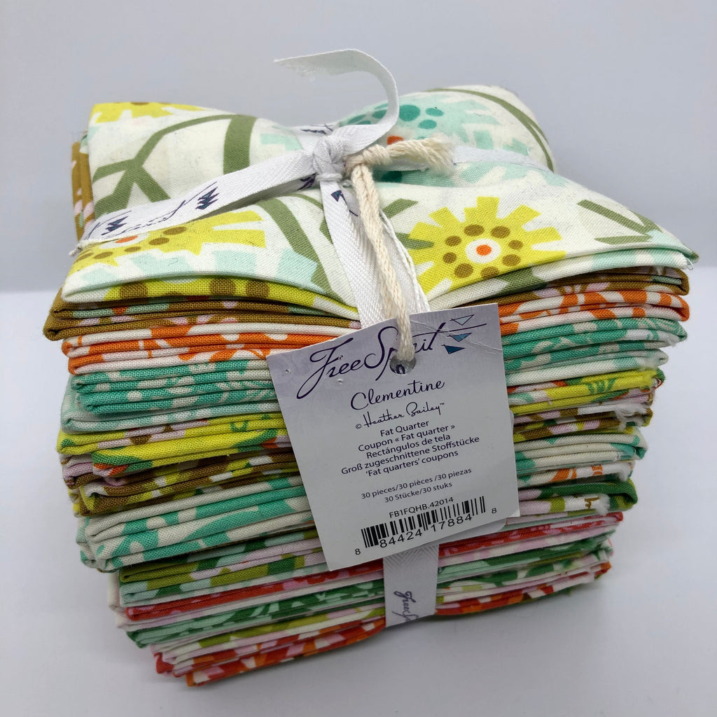 Clementine Fat Quarter Bundle by Heather Bailey - The Mulberry Tree at Milton