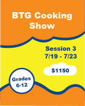 BTG Cooking Show Camp