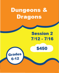 Dungeons and Dragons Camp