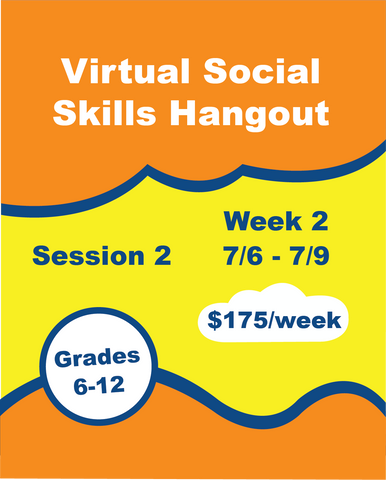 Virtual Social Skills Hangout - Week 5