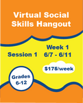 Virtual Social Skills Hangout - Week 1