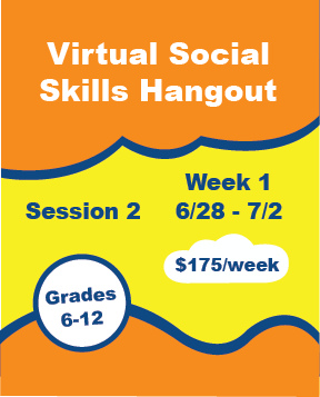 Virtual Social Skills Hangout - Week 4