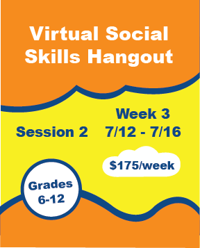 Virtual Social Skills Hangout - Week 6