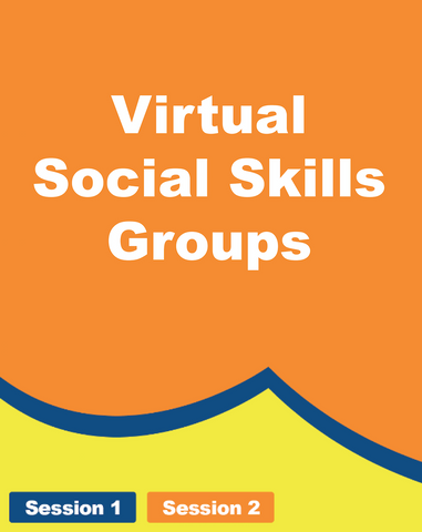 Virtual Social Skills Groups - Grades 5th - 12th