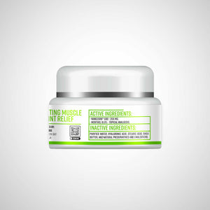 CBD Pain Cream - Sports Cream NanoZorb™ Broad Spectrum 200mg