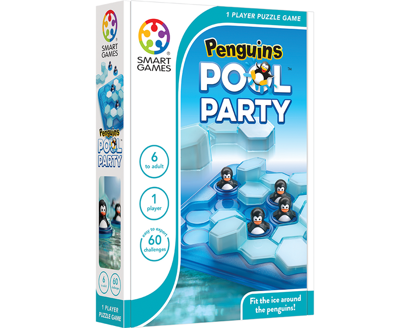 Pinguinos pool party
