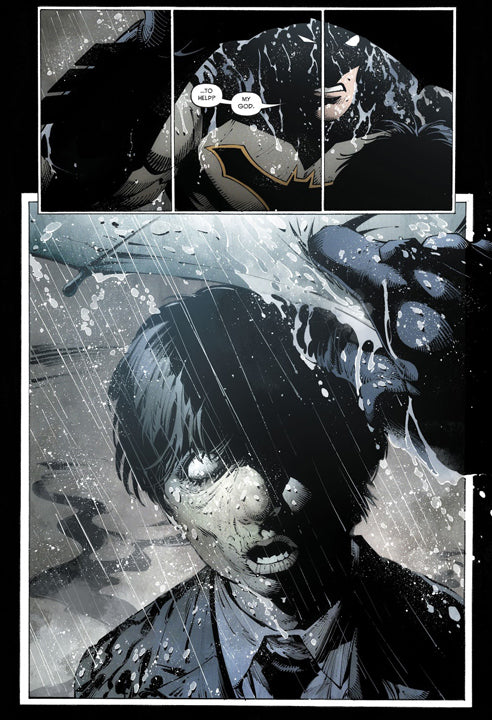 Batman: snyder capullo last knight on eart