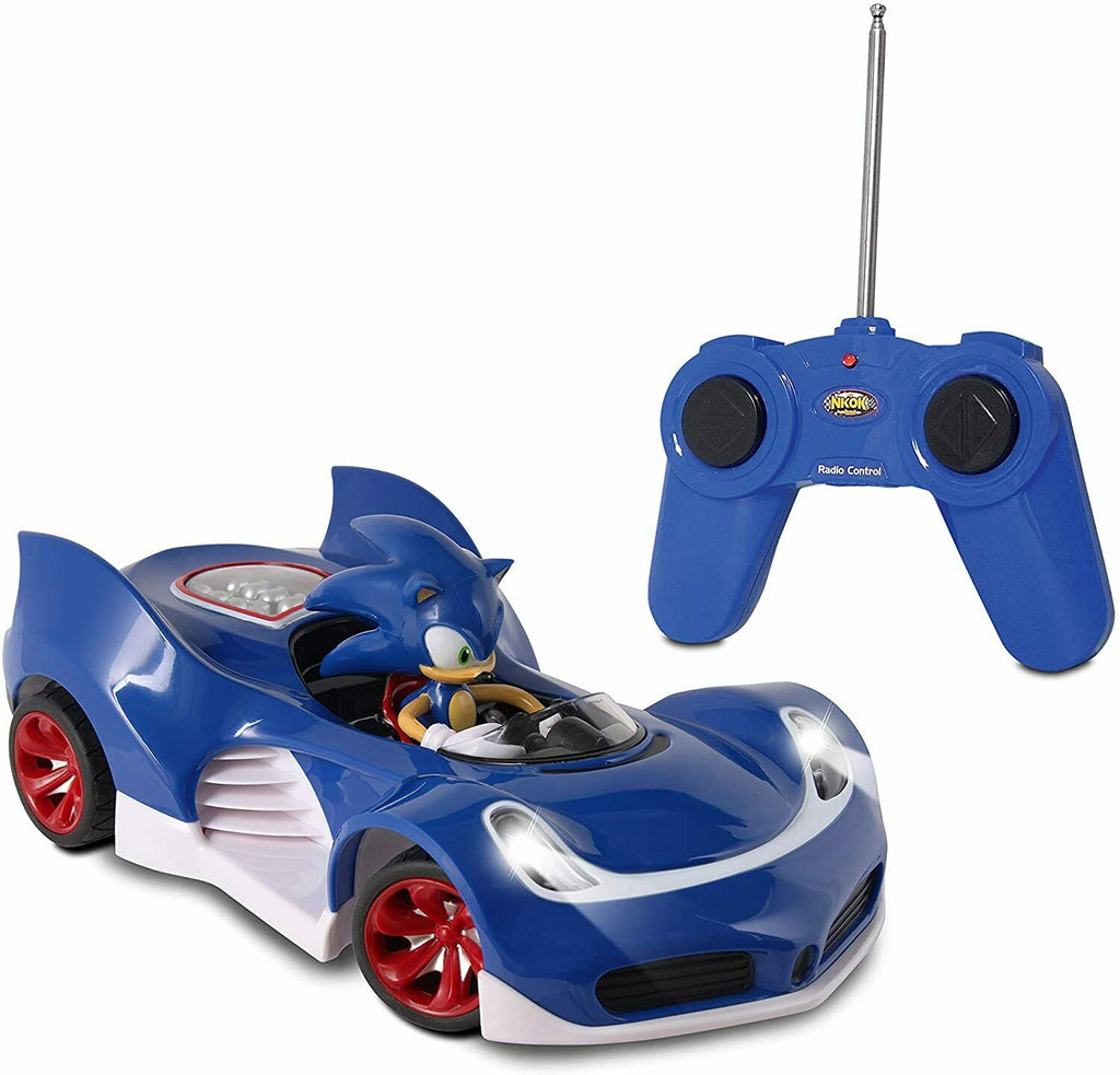 Sonic the hedgehog carro radio control