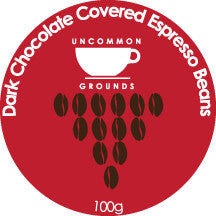 Chocolate Covered Espresso Beans 125g pouch
