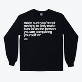 make sure sweatshirt