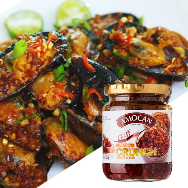 Tasty Treat with Amocan<br>–Chilli Prawn Mussels