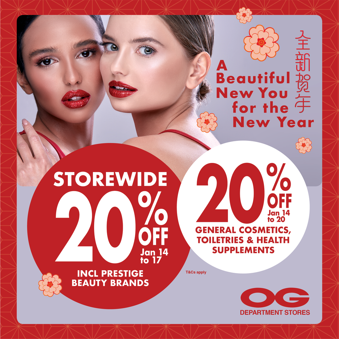 Beautiful NEW You for the New Year ✨ 20% Off Prestige Beauty & More!
