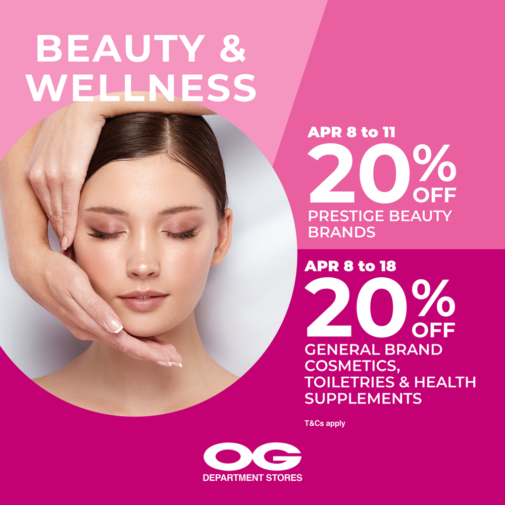 Stay Beautiful & Well 💓 20% Off Prestige Beauty & More!