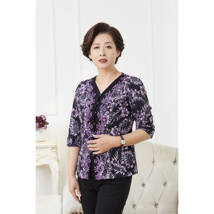 NINA Blouse - Purple