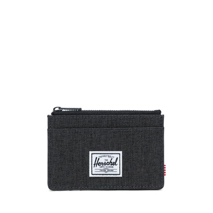 Herschel Oscar Wallet - Black Crosshatch