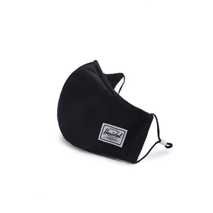 Herschel Classic Fitted Face Mask - Black