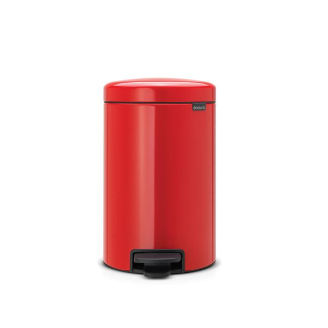 Brabantia Pedal Bin NEWICON 12L Soft Closing -Passion Red