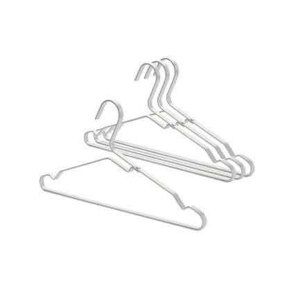 Brabantia Aluminium Clothes Hanger Set Of 4-Silver